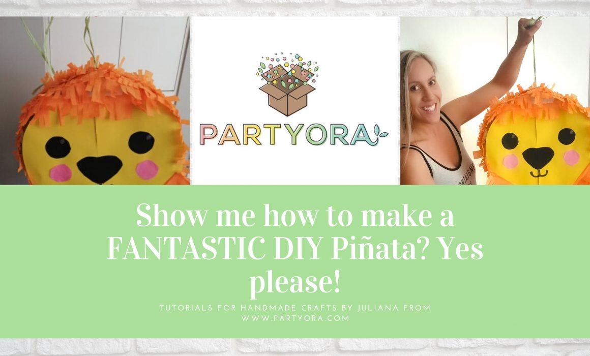 How to make a DIY pinata