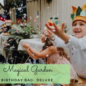 Magical Garden Birthday Bag DELUXE
