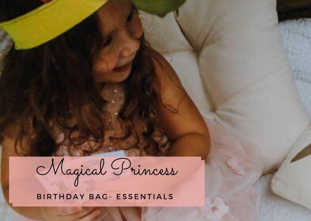 Magical Princess Birthday Bag