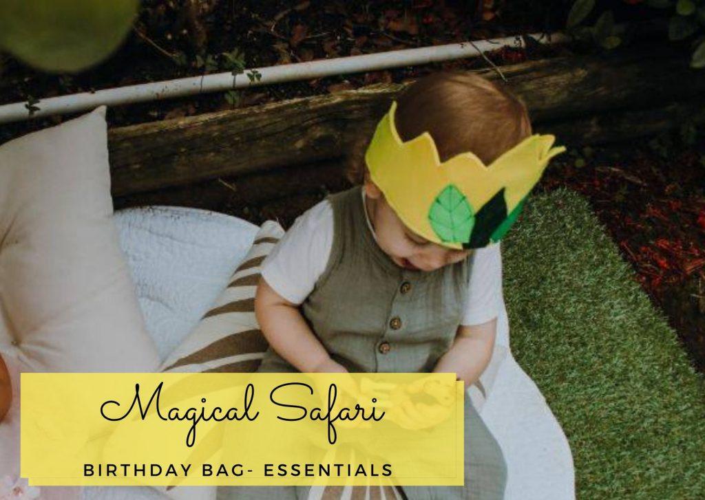 Magical Sagari birthday bag
