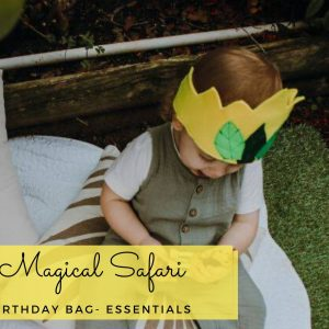 Magical Sagari birthday bag