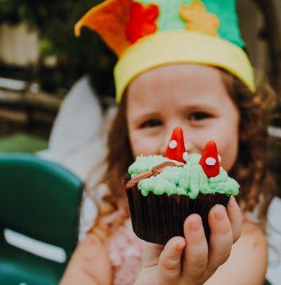 Cupcake by Sandra magical garden shoot