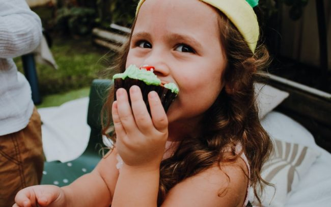 Cupcake by Sandra magical fairy garden shoot