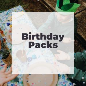 Birthday packs