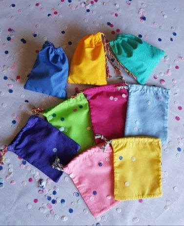 Fabric Favour bags