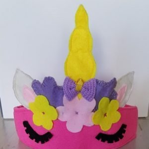 unicorn reusable party crown