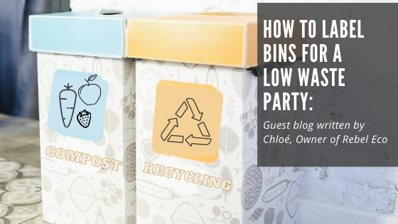Low waste party ideas