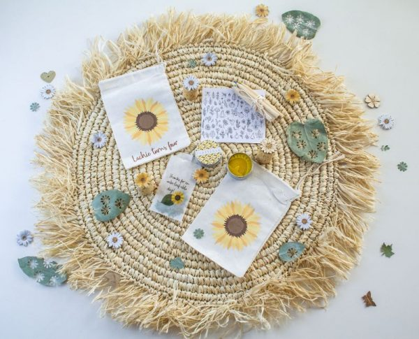 Sunflower party bags