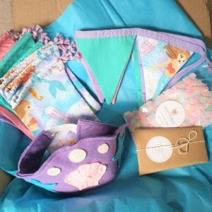 mermaid mini party box