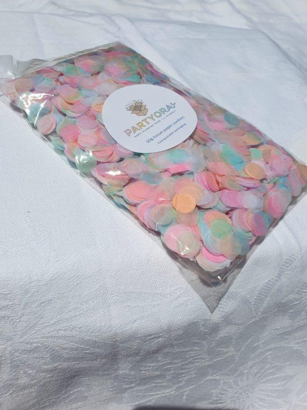 pastel eco confetti
