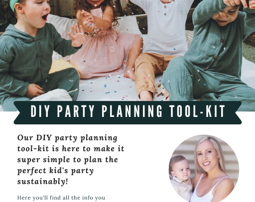 DIY party planning tool-kit