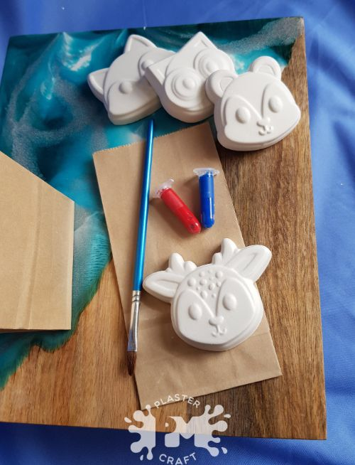 woodland animals eco party favour
