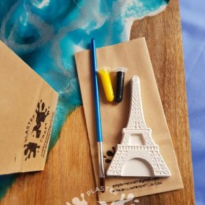 Eiffel tower eco friendly party favour