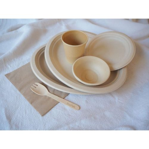 natural eco tableware