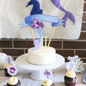 Mermaid party theme box