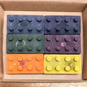 lego brick eco crayons