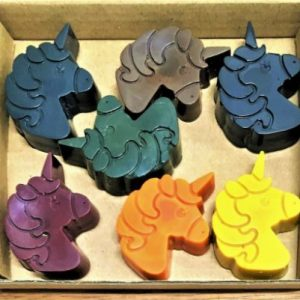 Eco crayons Unicorn shaped crayon