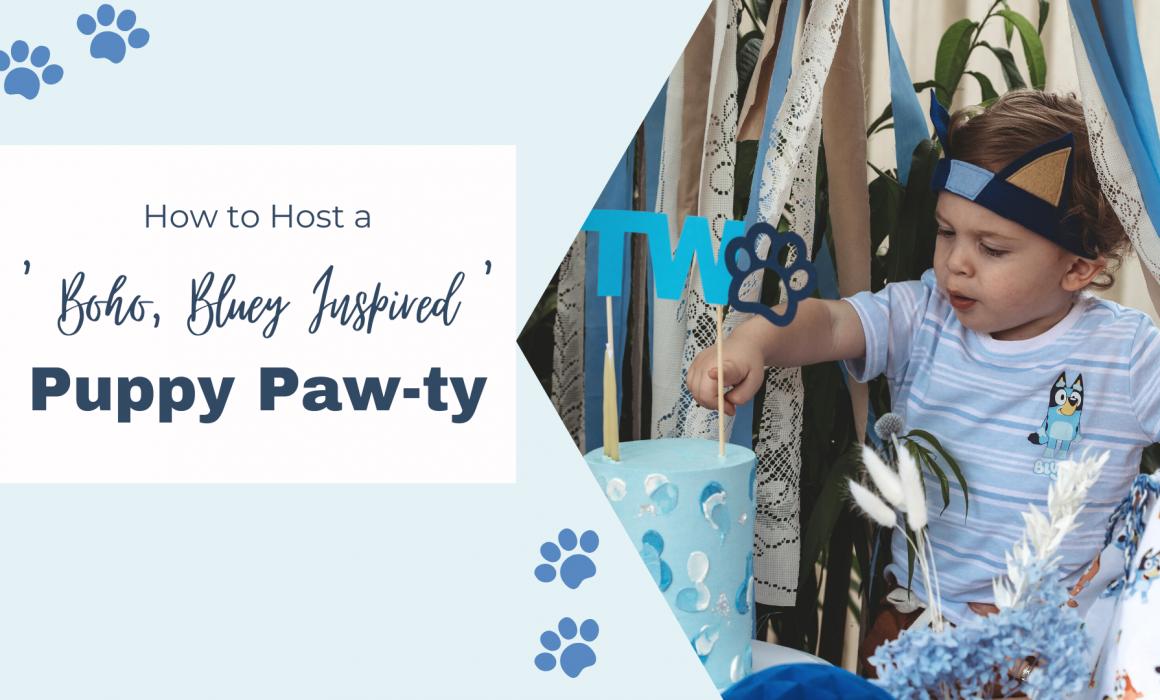 how to host a boho bluey party