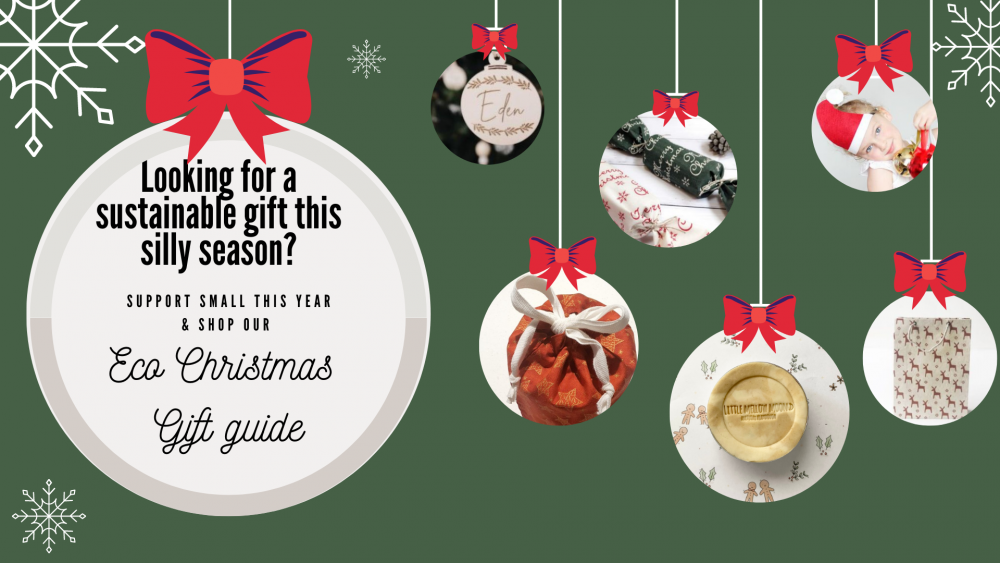 Eco Christmas gift guide blog