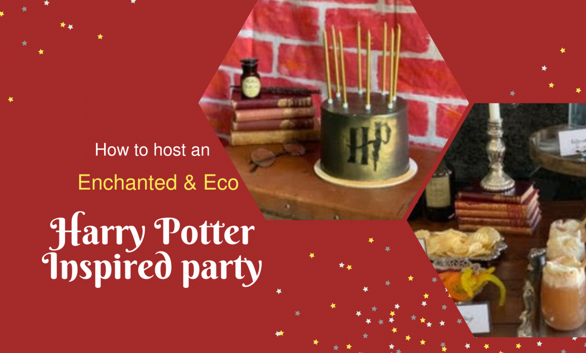 How to host an enchanted Harry Potter party