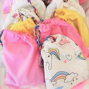 Unicorn favour bags