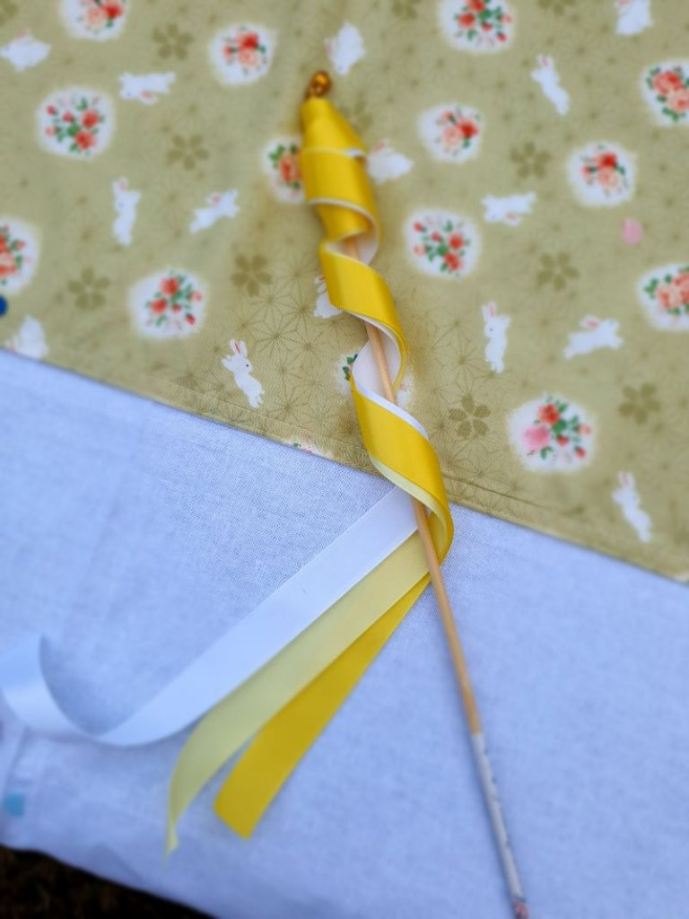 Yellow party wand