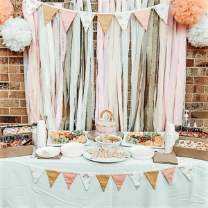 peach and pink party
