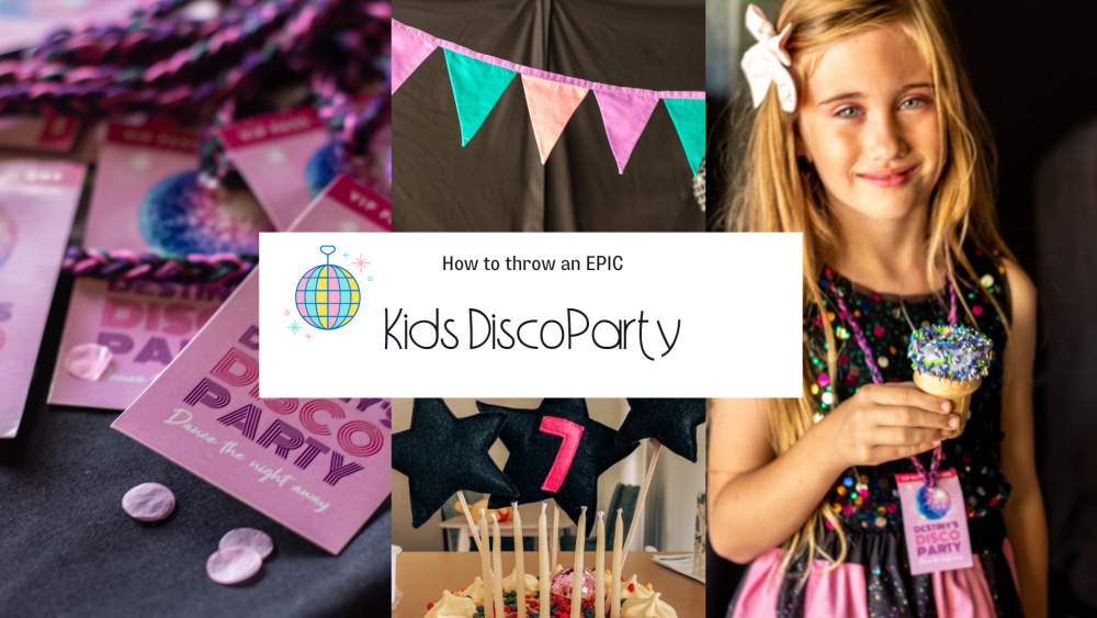 How to throw a kids disco party