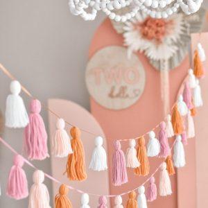 Tassel party garland decoration