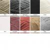 Tassel garland colour chart