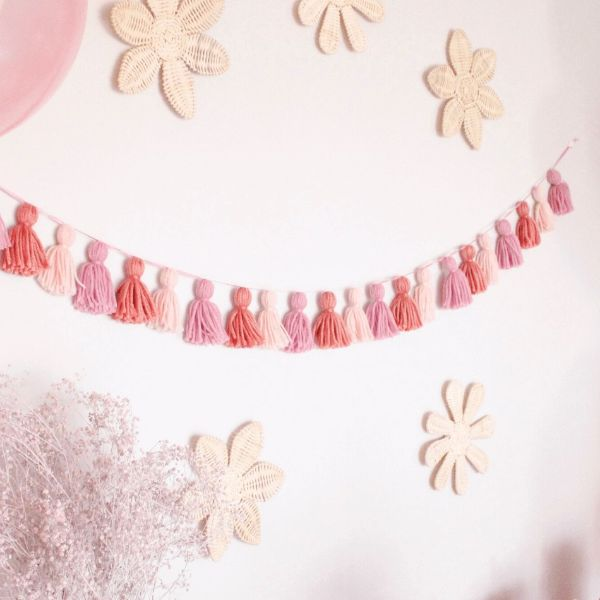 Tassel party garland small