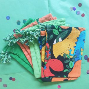 Dino parrty bags