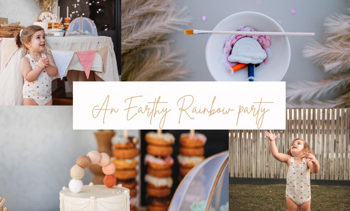 Earthy rainbow party