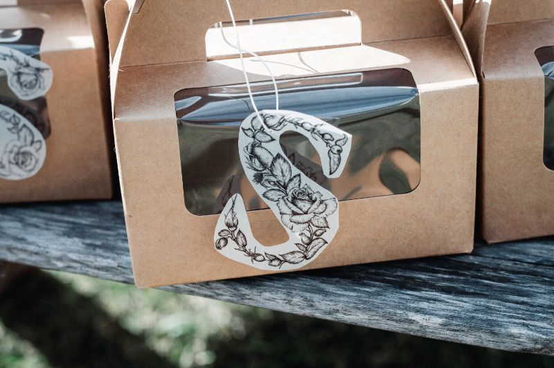 Hungry Homer Donut Favour boxes