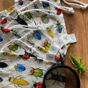 Beetle theme party bags