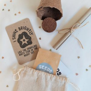 Grow seeds party favour